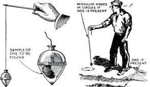 pendulum, dowsing rod